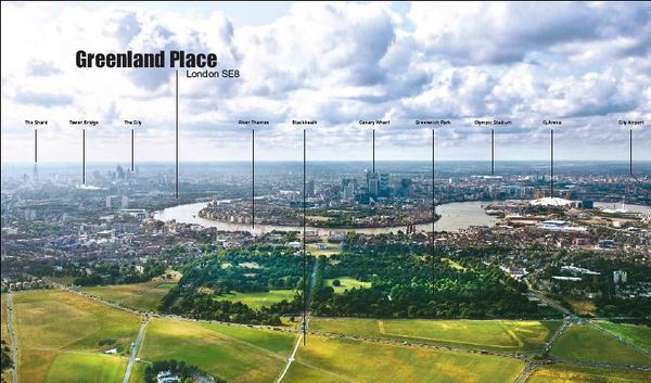 英国房产 - 伦敦北欧传奇Greenland Place房产项目
