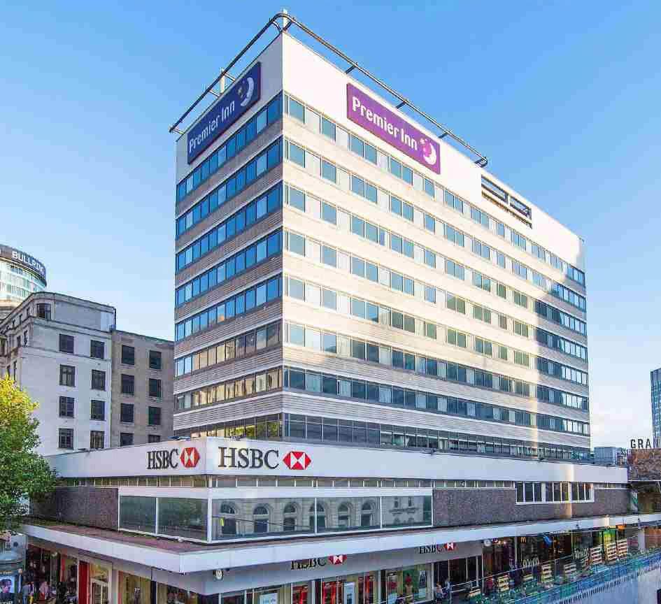 伯明翰市中心绝佳的出租零售&酒店投资选择