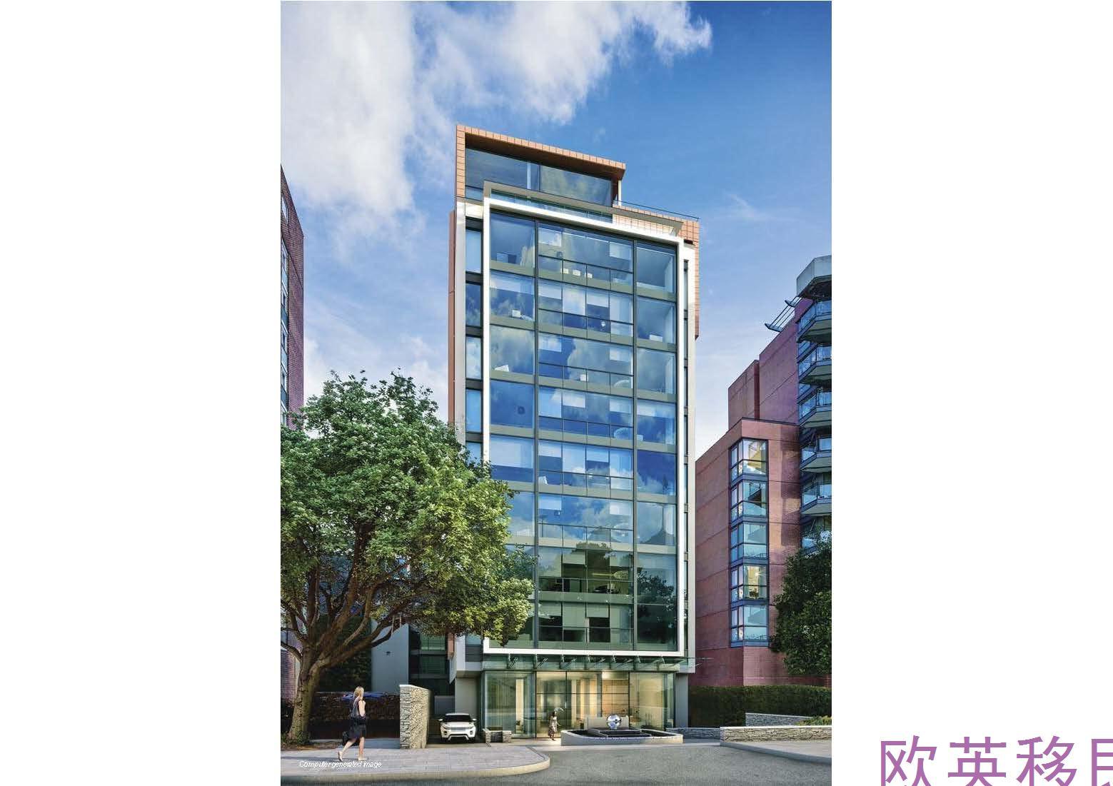 伦敦中部位于圣约翰伍德的高质量新建住宅